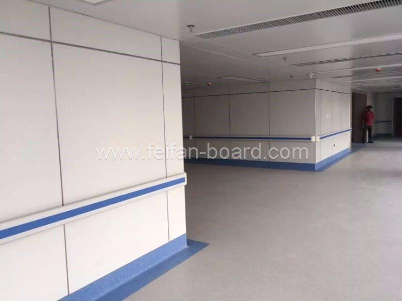Project hospital corridor